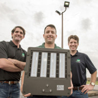 Marine veterans find success with 'green' lighting company