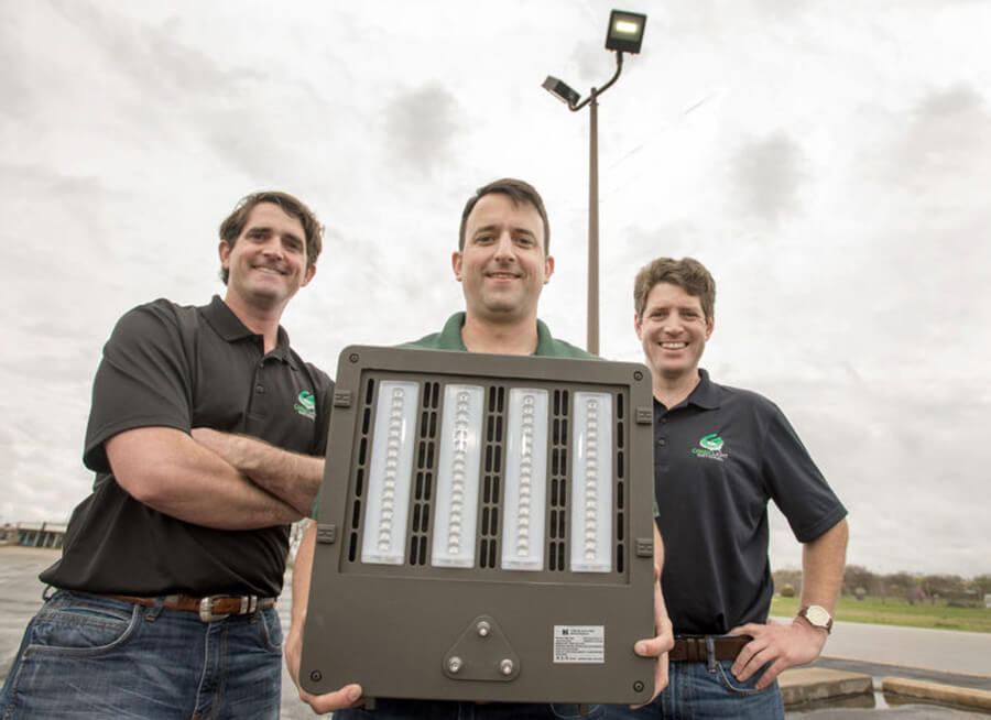 Marine Veterans Find Success With Green Lighting Company